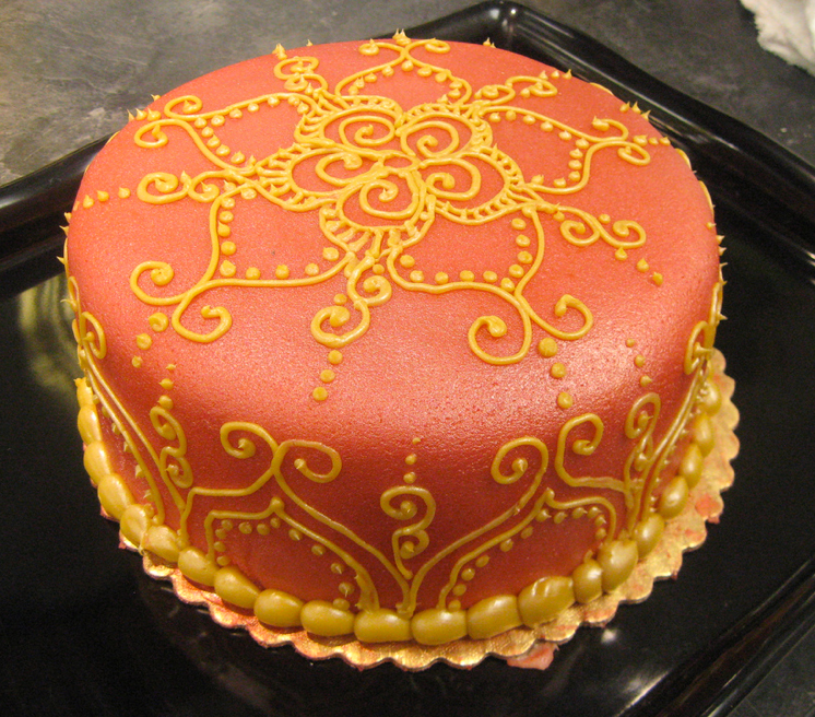 Orange Henna Cake Copy Copy Earthhenna