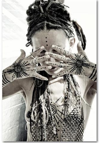 Violetta Villacorta Hand Tattoo Design