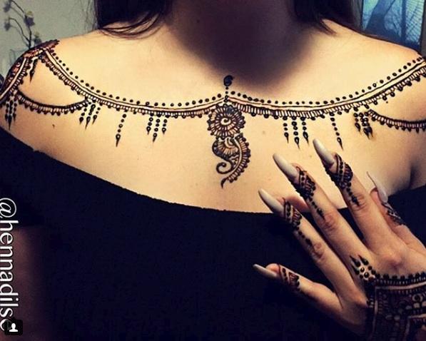 Jagua Tattoo Chest Design