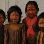 Matsés Indian kids