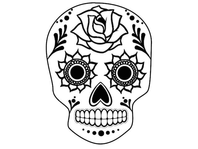 Cinco de Mayo Muertos Skull