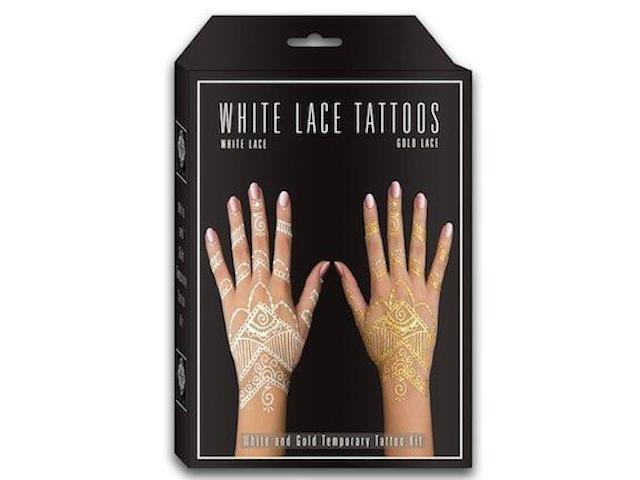 Gold Lace White Henna Kit